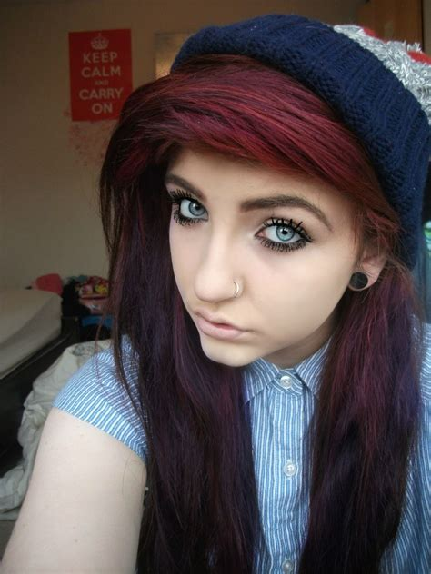 Burgundy Red Hair Exact Color I Want And I