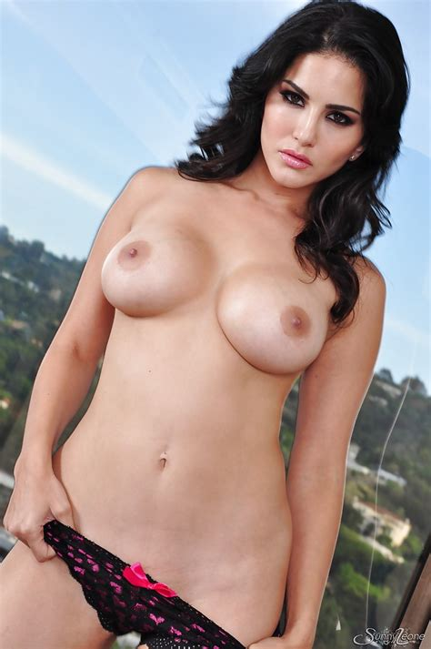 Brunette Porn Star Sunny Leone Ready To Get Naked Anytime Of Day
