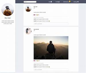 socialyte html social network template by codeplus it With social network profile template