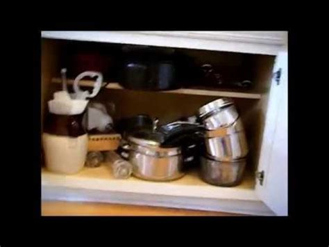how to organize pots and pans in small kitchen organizing the kitchen pots and pans cabinet 9923
