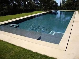les 25 meilleures idees de la categorie escalier piscine With beautiful carrelage plage piscine gris 1 les 25 meilleures idees de la categorie terrasses de