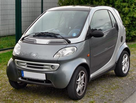 Smart Fortwo History Of Model Photo Gallery And List Of