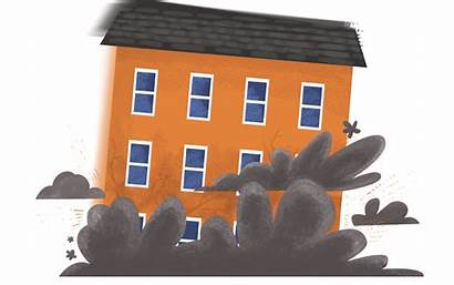 Collapse Building Clipart Insurance Subsidence Claims Houses