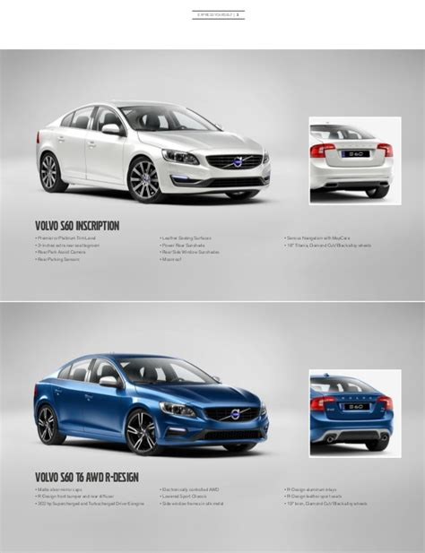 Orange County Volvo by 2017 Volvo S60 Brochure Orange County Volvo