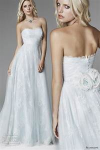 blumarine 2013 bridal collection wedding inspirasi page 2 With pale blue wedding dress