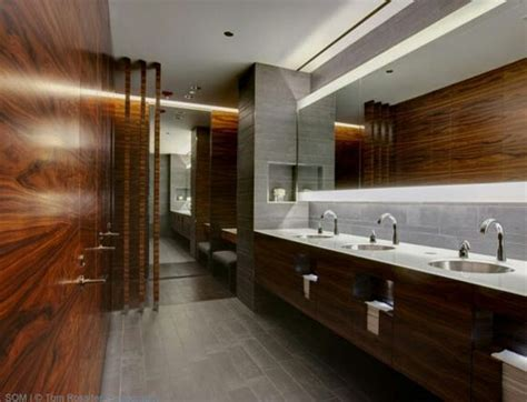 law firm office bathroom corporate interiors