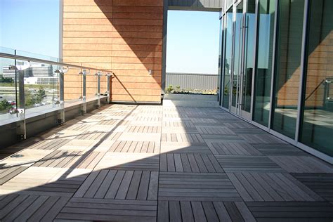 Ipe Deck Tiles Toronto bison products in use bison deck supports and deck tile