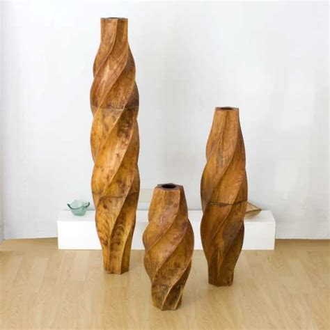 Wooden Floor Vases by 17 Best Images About Floor Pots On Mosaic