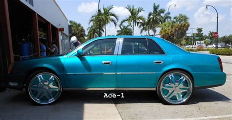 ace  candy teal cadillac deville   dub trump floaters