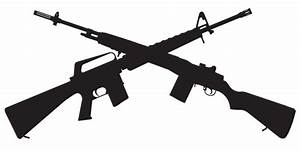 Rifle clipart ar 15 - Pencil and in color rifle clipart ar 15