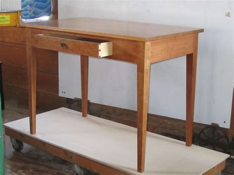 hand crafted writing desk  foster custom furniture