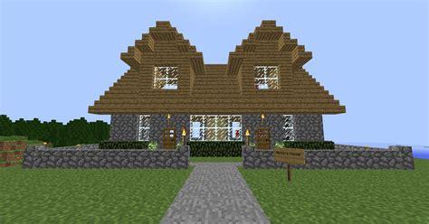 minecraft simple house ideas house design  plans