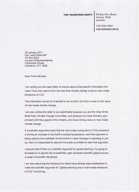open letter   format cover letter