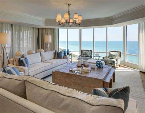 Elegant Florida Condo With Coastal Interiors Kitchen Block Island Small Vintage Ideas Facelift How Much Does It Cost To Build A Post Hgtv Designs White With Oak Worktops Ikea Kitchens