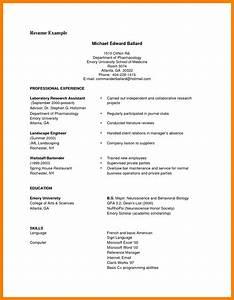 8  Curriculum Vitae Examples Pdf