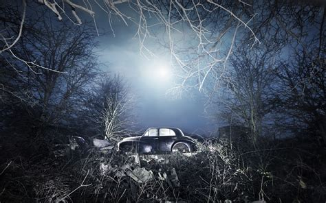 night, Car, Vehicle Wallpapers HD / Desktop and Mobile Backgrounds