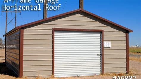frame horizontal garages