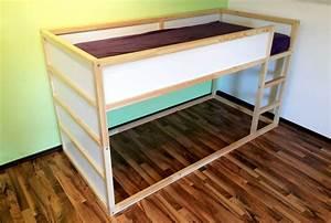 Ikea Lit En Hauteur : une cabane diy pour nos enfants bidouilles ikea ~ Teatrodelosmanantiales.com Idées de Décoration