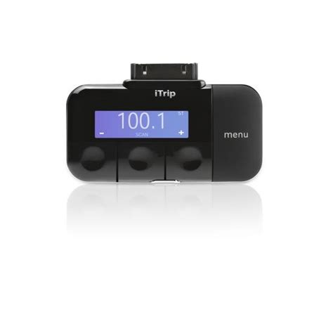 griffin itrip fm transmitter  app support black  trpdaip iphone  ipad  accessories