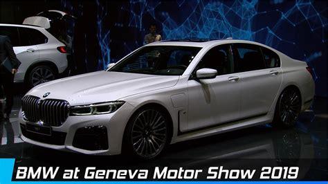 Bmw Cars At Geneva Motor Show 2019