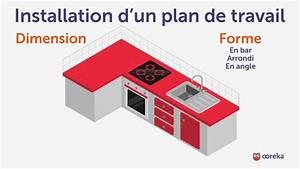 Installer Un Plan De Travail : installer un plan de travail youtube ~ Melissatoandfro.com Idées de Décoration