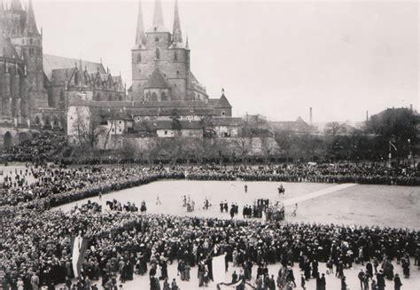 Bildergeschichten Domplatz Mit Dom Und Severikirche