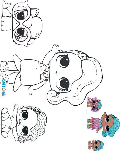 Coloring Lol Splash by Lol Splash The Glitterati Da Colorare