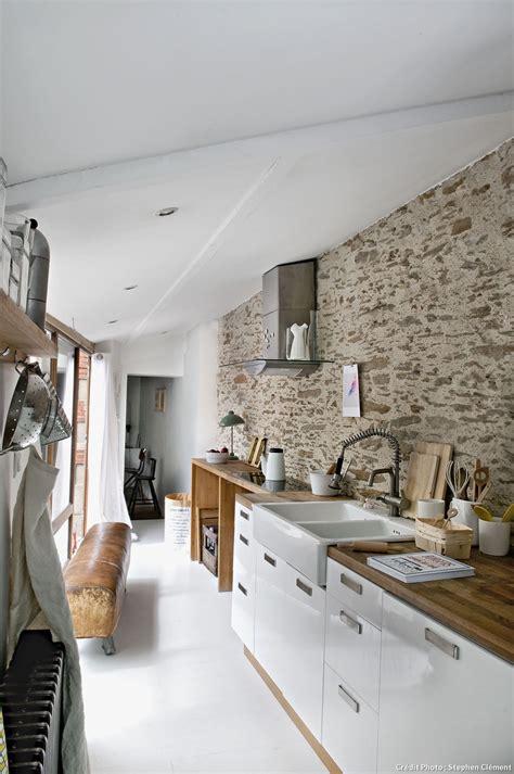 cuisine dans maison ancienne les plus belles cuisines de maison cr 233 ative