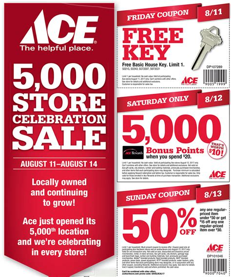 store page  sneades ace home centers