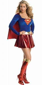 Classic Supergirl Costume Adult - Party City | halloween ...