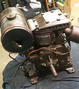 Antique Briggs Amp Stratton Model B Engine 30s 40s