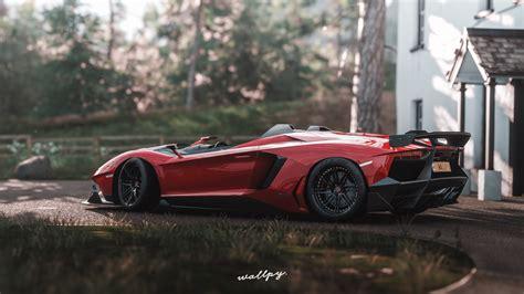 Lamborghini Aventador Sv Forza Horizon 4k, Hd Games, 4k