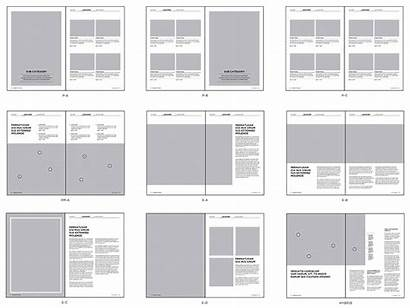Grid Layout System Graphic Magazine Layouts Booklet