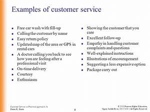 customer service a practical approach 5th ed by elaine With examples of good customer service