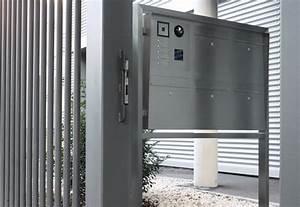 Briefkasten Mit Klingel Freistehend : inoplan briefkasten freistehend von lippert stylepark ~ Sanjose-hotels-ca.com Haus und Dekorationen
