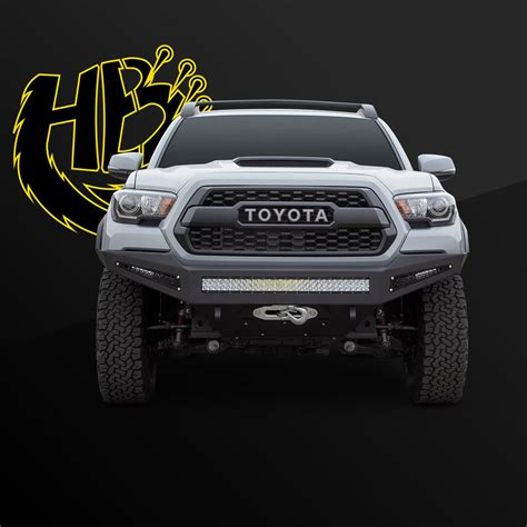 toyota tacoma aftermarket front bumper addoffroad