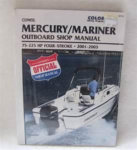 Clymer Repair Manual Mercury  Mariner 75
