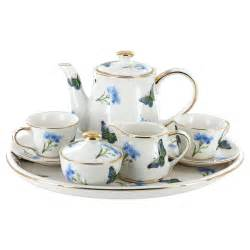 butterfly favors childrens tea set 10 pcs blue butterfly