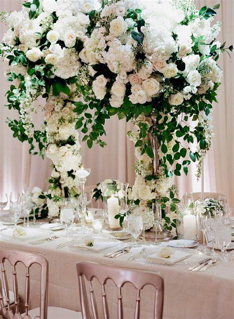 Tall Flower Arrangement Ideas For Wedding Reception