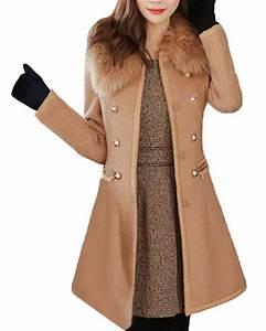 Veste D Hiver Femme 2017 : zanzea femme slim blazer chaude manteau veste hiver parka ~ Dallasstarsshop.com Idées de Décoration
