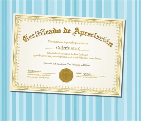 sample certificate  appreciation temaplate