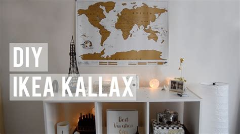 how to decorate office at diy ikea kallax how i decorate