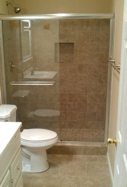 Stand Up Shower Ideas For Small Bathrooms by Another Bath Remodel Took Out The Bathtub And Installed A