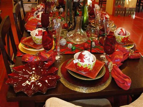 dining room elegant christmas banquet decorating ideas