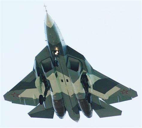T-50 Pak-fa Sukhoi Multi-role Fighter Aircraft Technical