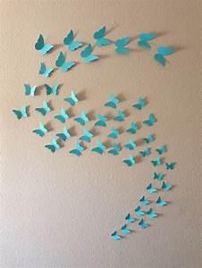 3d Wall Art : 3d butterfly wall art 48 96 or 144 butterflies ~ Sanjose-hotels-ca.com Haus und Dekorationen
