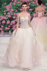 pink rose wedding dress 2016 2017 fashion trend With rose wedding dress