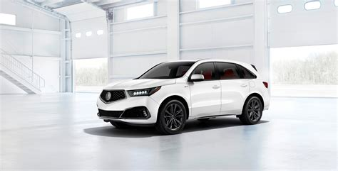 2020 Acura Mdx Aspec by All New 2019 Acura Mdx A Spec Variant Makes Debut