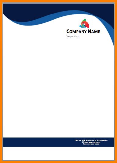 Business Template Word Free Download by Letterhead Design Free Download Free Printable Letterhead