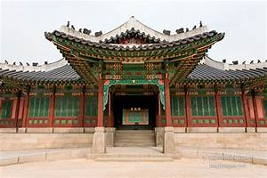 Photo: One of the entrances to Huijeondang. Changdeokgung ...